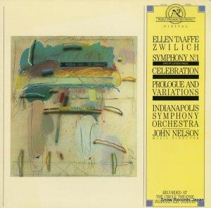 ジョン・ネルソン - zwilich; symphony no.1(three movements for orchestra) - NW336