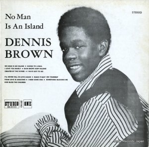 デニス・ブラウン - no man is an island - SOL01112