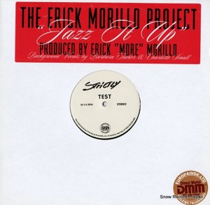 THE ERICK MORILLO PROJECT - jazz it up - SR12442