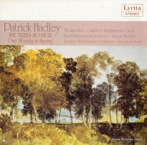V/A - patrick hadley; the trees so high, one morning in spring - SRCS.106