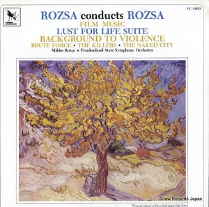 ミクロス・ローザ - rozsa; lust for life suite, back ground to violence - VC81053