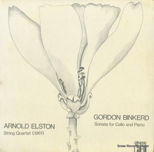 V/A - arnold elston; string quartet - 260CRISD289