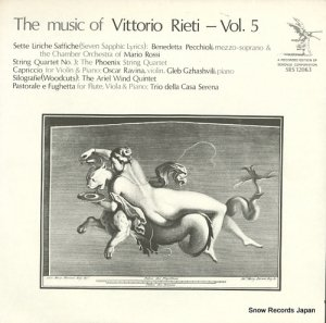 V/A - the music of vittorio rieti-vol.5 - SRS12063