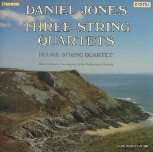デルメ弦楽四重奏団 - daniel jones; three string quartets - ABRD1043