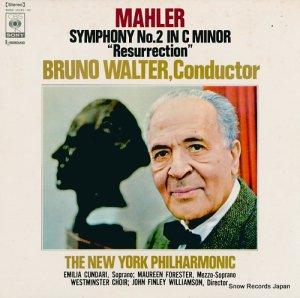 ブルーノ・ワルター - マーラー:交響曲第2番ハ短調「復活」 - SONC10191-92