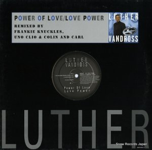ルーサー・ヴァンドロス - power of love / love power - 6625906