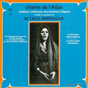 タオス・アムルーシュ - アルジェリアの魂「アトラスの歌」 - PA-6062