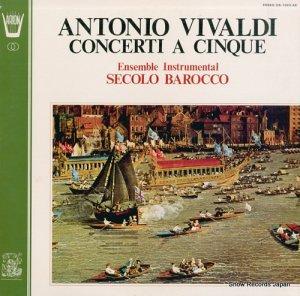 セコーロ・バロッコ器楽アンサンブル - ヴィヴァルディ:五声の協奏曲集 - OX-1042-AR