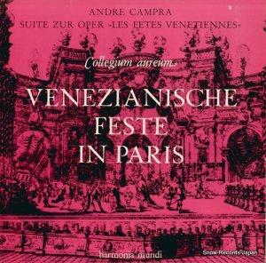 コレギウム・アウレウム合奏団 - アンドレ・カンプラ:歌劇「ヴェネチアの祭り」よりの組曲 - HMS30822/HM30822