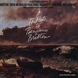 レナード・バーンスタイン - ブリテン:イギリス民謡組曲作品90(オペラ「ピーターグライムス」作品33より) - 25AC297