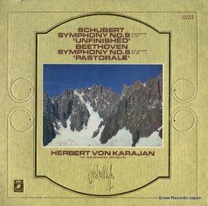 ヘルベルト・フォン・カラヤン - シューベルト:交響曲第8番ロ短調「未完成」 - AA-8218