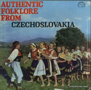 V/A - authentic folklore from czechoslovakia - SUA12458/60