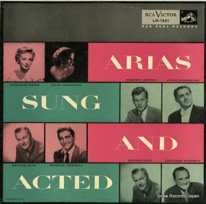 V/A - arias sung and acted - LM-1801