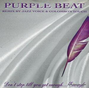 PURPLE BEAT - don't stop till your get enough... / enough(remixes) - HOT119