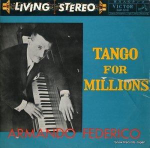 アルマンド・フェデリコ - 百万人のタンゴ - SHP508