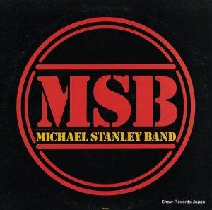 マイケル・スタンレー・バンド - msb - SN-16392