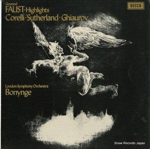 リチャード・ボニング - gounod; faust-highlights - SET431