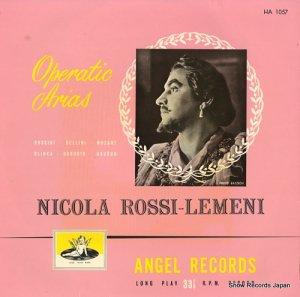 ニコラ・ロッシ=レメーニ - オペラ・アリア集 - HA1057