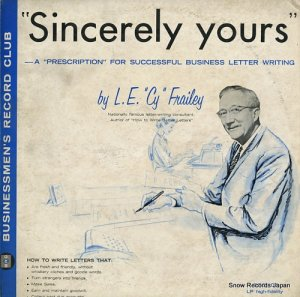 L.E. CY FRAILEY - sincerely yours - BRC107