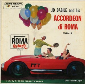 JO BASILE, ACCORDION AND ORCHESTRA - accordeon di roma vol.2 - AFLP1871