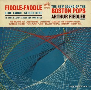 アーサー・フィードラー - fiddle-faddle / blue tango sleigh ride - LM-2638