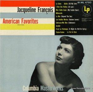 ジャクリーヌ・フランソワ - american favorites - ML4780