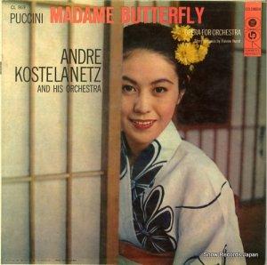 アンドレ・コステラネッツ - puccini; madame butterfly - CL869
