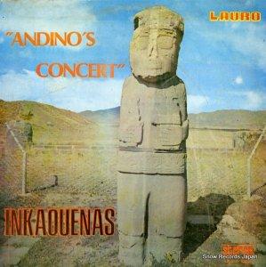 INKAQUENAS - andino's concert - LPLR/S-1202
