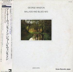 ジョージ・ウィンストン - アーリー・ウィンストン/バラッズ・アンド・ブルース'72 - WHP-28026