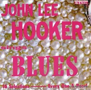 ジョン・リー・フッカー - sings blues - KING727