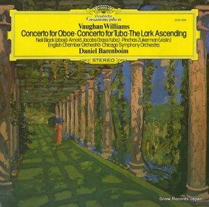 ダニエル・バレンボイム - vaughan williams; concerto for oboe, concerto for tuba, the lark ascending - 2530906