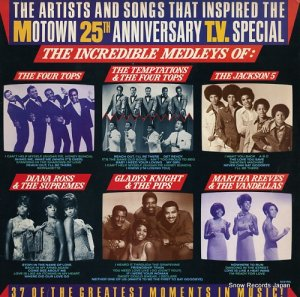 V/A - the artists and songs that inspired the motown 25th anniversary t.v. special - 5321ML
