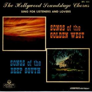 ハリウッド・サウンドステージ・コーラス - 西部開拓者の歌/緑深き南部の歌 - MPL1015