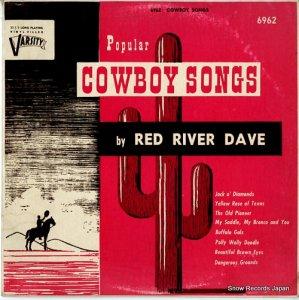 レッド・リヴァー・デイヴ - popular cowboy songs - 6962