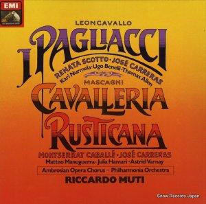 リッカルド・ムーティ - leoncavallo; i pagliacci - 1C165-03800/02