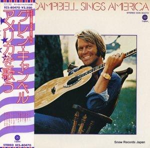 グレン・キャンベル - アメリカを歌う - ECS-80470