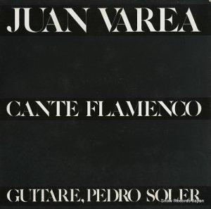 JUAN VAREA - cante flamenco - LDX74782