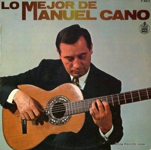 マヌエル・カーノ - lo mejor de manuel cano - 0-069S