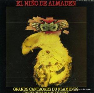 EL NINO DE ALMADEN - grands cantaores du flamenco - LDX74830