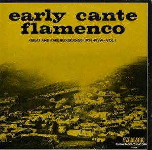 V/A - early cante flamenco - FOLKLYRIC9001