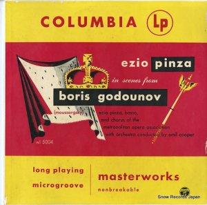 エツィオ・ピンツァ - moussorgsky; boris godounov - WL5004