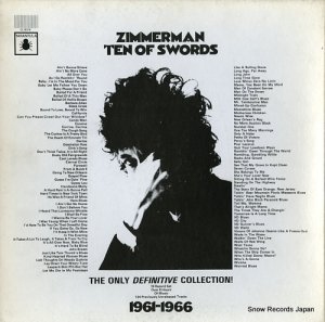 ボブ・ディラン - zimmerman ten of swords - CL16319