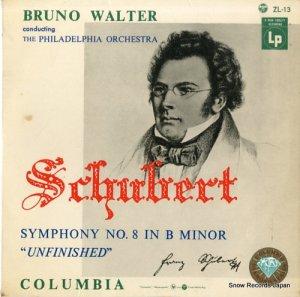 ブルーノ・ワルター - シューベルト:交響曲第8番ロ短調「未完成」 - ZL-13