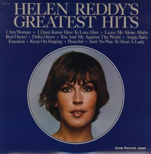 ヘレン・レディ - helen reddy's greatest hits - SN-16333