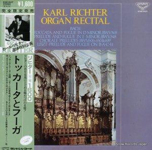 カール・リヒター - トッカータとフーガ/リヒター・オルガン・リサイタル - K16C-9127