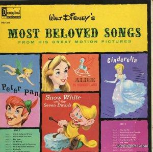 ウォルト・ディズニー - most beloved songs - DQ1213