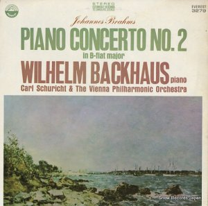 ウィルヘルム・バックハウス - brahms; piano concerto no.2 in b-flat major - EVEREST3279