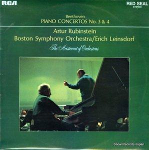 エーリッヒ・ラインスドルフ - beethoven; piano concerto no.3 in c minor op.37 - SB6787