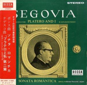 アンドレス・セゴヴィア - ポンス:ソナタ・ロマンチカ - SDL15041