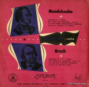 カンポーリ - メンデルスゾーン:ヴァイオリン協奏曲ホ短調作品64 - LLA10051